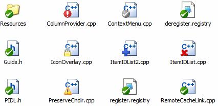 TortoiseSVN icon overlays
