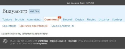 Diseño de la cabecera y pie de página de WordPress