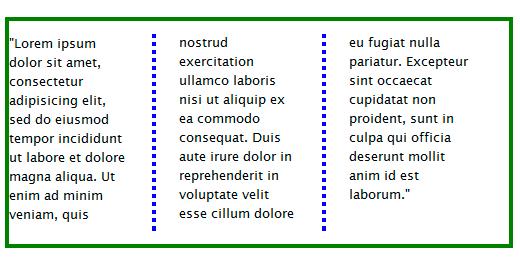 Webkit Columns