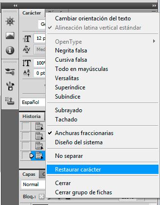 Actualizar lista de fuentes sin reiniciar Photoshop