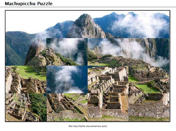 Machupicchu Puzzle